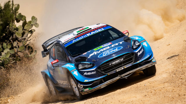 Elfyn Evans ja Scott Martin toovad esmakordselt M-Sport meeskonna Ford Fiesta WRC Shell Helix Rally Estonia starti