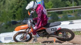 Karel Kutsar võitis motokrossi Eesti karikavõistlused