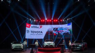 Toyota on WRC Rally Estonia ametlik autopartner