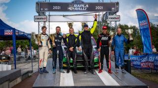Rapla ralli 2021 võitjad on Raul Jeets ja Timo Taniel